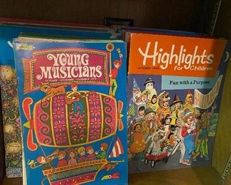 Young Musicians and Highlights books