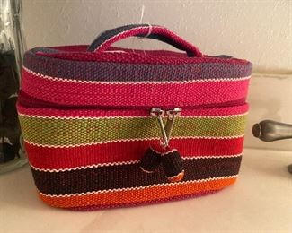 Multi-functional jewelry/makeup bag or purse