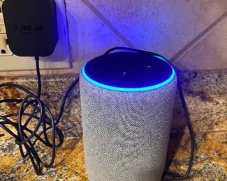 Echo - serviced by Alexa *we have several