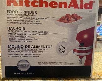KitchenAid food grinder
