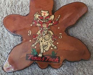 Texas Tech clock