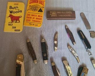 Vintage knives ~ Case, Uncle Henry , Craftsman, Sandvik & more