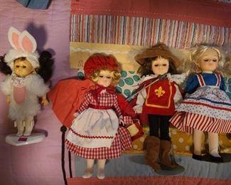 Dolls ~ classic fairytale book favorites