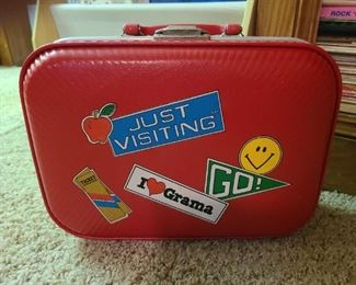 Vintage child suitcase