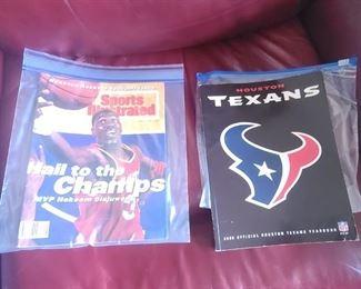 Magazines ~ Sports Illustrated  Texans