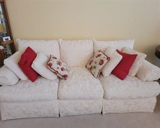 Thomasville down sofa in excellent condition