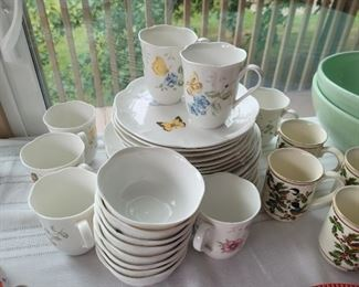 Lenox butterfly dishes