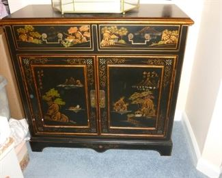 Small Asian style cabinet