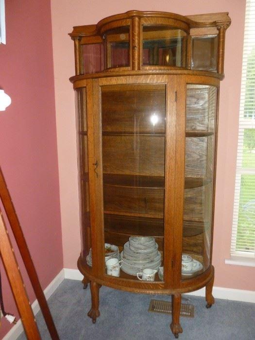 Gorgeous Antique Curio Cabinet