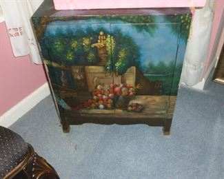 Another painted cabinet