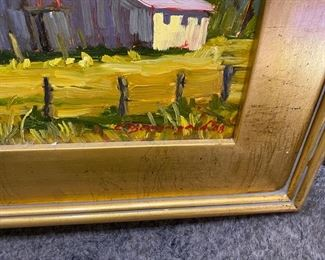 """#6 - $295 Each oil painting from Chula Beauregard (Steamboat Spring CO) 14"""" x 18"""" approx"""