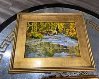 """#6bis - $295 Each oil painting from Chula Beauregard (Steamboat Spring CO) 14"""" x 18"""" approx"""