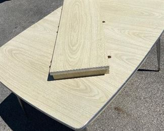 Formica table with leaf