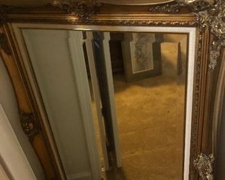 One of several beveled mirrors