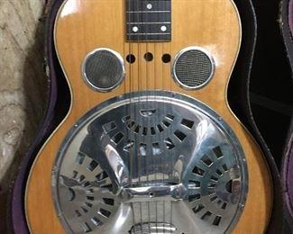 Vintage Dobro guitar, very good condition