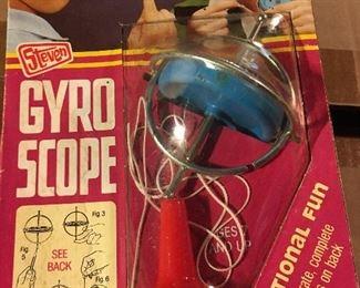 vintage gyroscope by Steven