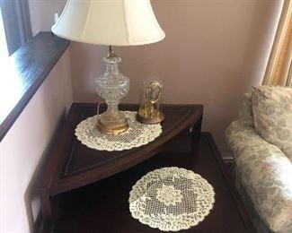 Corner End Table