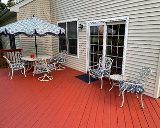 Absolutely Gorgeous Aluminum Outdoor Patio Sets