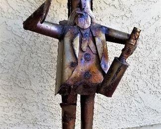 Metal Mexican Cowboy