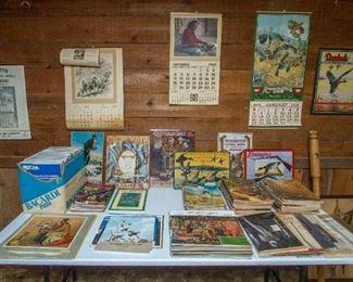 Lawrence, KS Ernst & Young HW Calendars, Remington re-pop calendars & more!