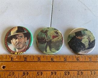 Raiders of the Lost Ark Buttons $9.00