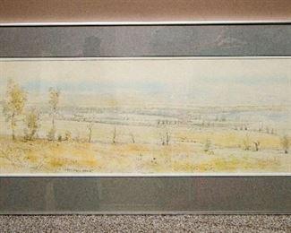 "Original Sudlow ""Weedy Fields North"" 1979"