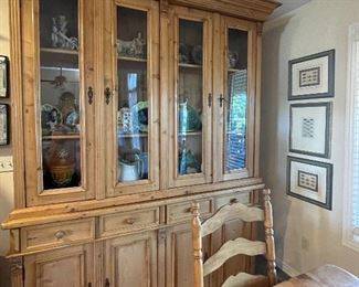 GORGEOUS! Romanian Pine Hutch/Cupboard. This is a top quality piece in most  excellent condition!