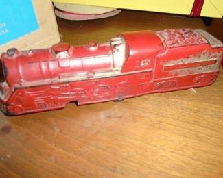 rubber train