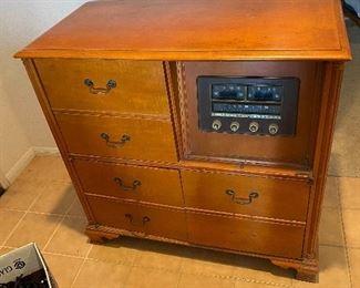 Stromberg-Carlson radio cabinet