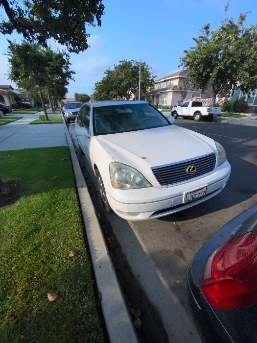 2003 Lexus LS 430 pristine condition less than 117500 miles Always garaged Cd replaced with Bluetooth phone/sound system $10,000