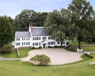 The Oldwick Estate – A Historic 1822 Federal Style Mansion Full Of Priceless Heirlooms