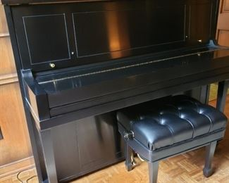 Steinway & Son piano and bench