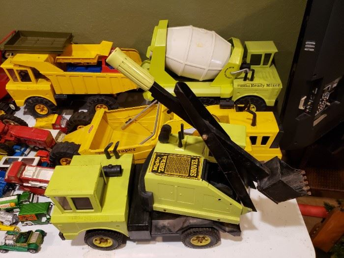 Vintage Tonka and Other great maker toys