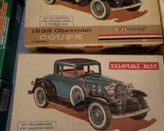 Hubley Metal Model Kits
