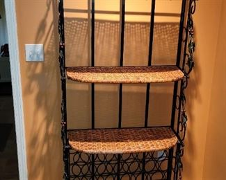 """$80.00, Bakers rack vg condition heavy 6' x 32"""" wide"""