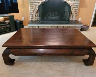 """$250.00, Arhaus Coffee Table, excellent condition, 54 x 24"""" x 16"""" tall"""