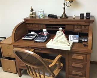 Large Old Accountants Desk