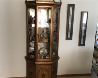 Small Lighted Display Case