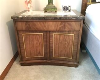 METZ Marble Top Side Table (2 Available)