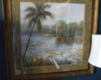 35x35  Palm tree art