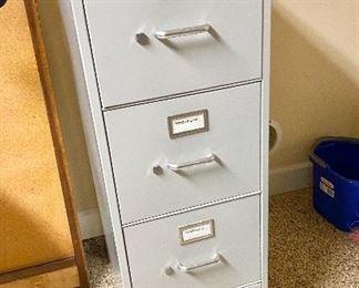 Four Drawer Metal File Cabinet