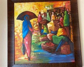 "Art Work of The Capital City of Ethiopia, ""Addis Ababa""."