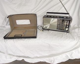 $200 obo -Grundig 6001 multi band SW radio. comes with outer case, much paperwork including schematics. antenna intact, battery compartment is clean,  radio works.... however station tuning string needs repair.