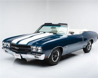 1970 Chevell SS Convertible LS6 Engine