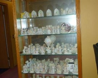 Large Curio Cabinet full of Precious Moments