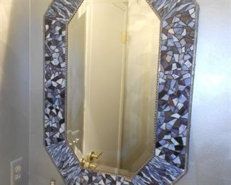 Fabulous Stained Glass Mosaic Mirror