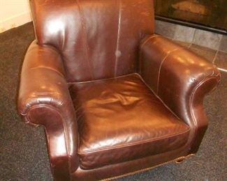 Milling Road Leather Chair