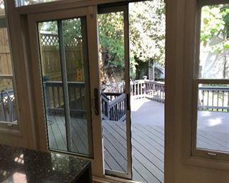 "$350 -- Marvin sliding doors 72"" x 80"""