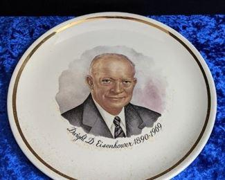 Vintage Eisenhower Plate