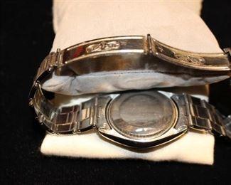 Backside Rolex Watch